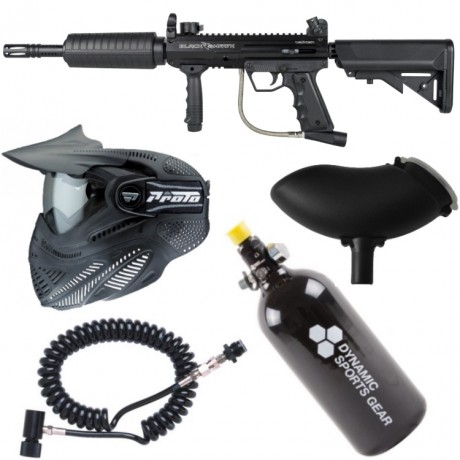 Valken SW-1 Blackhawk FOXTROT Paintball Komplettset | Paintball Sports