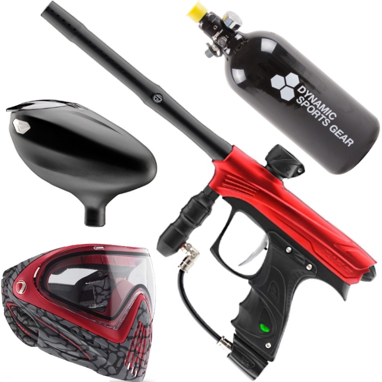 Proto Rize Paintball Sparpaket (rot)