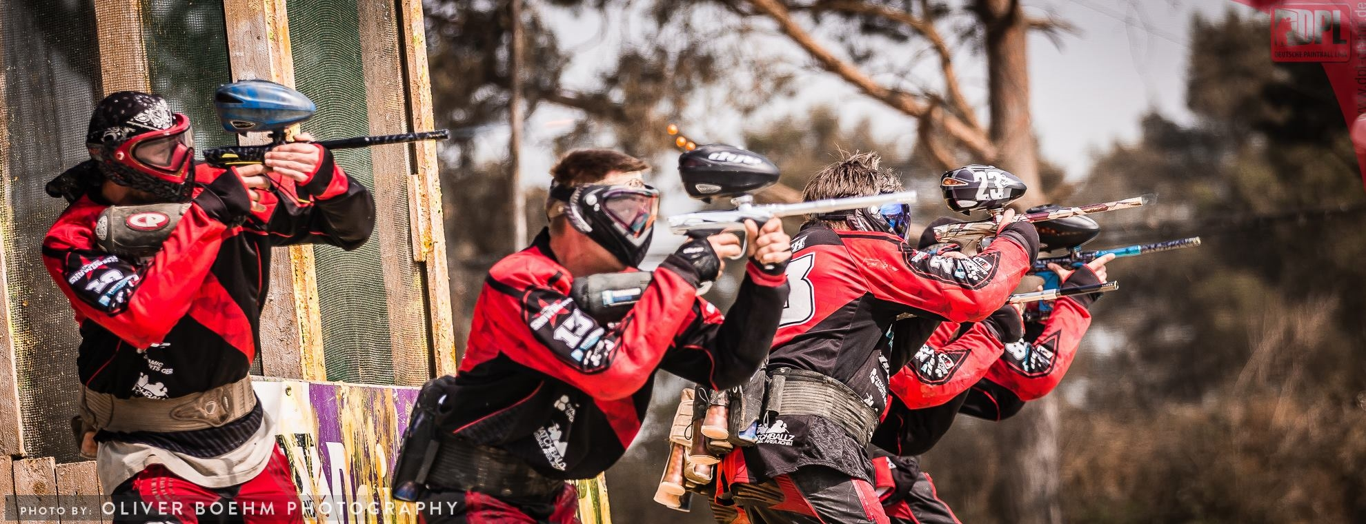 Paintball Sports Teamsuport für Liga und Turnier Teams DPL und X-Series