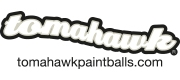 Paintball Produkt der Marke Tomahawk Paintballs